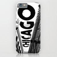 Cities In Black - Chicag… iPhone 6 Slim Case