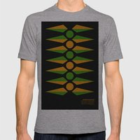 Rotational Symmetry Mens Fitted Tee Athletic Grey SMALL