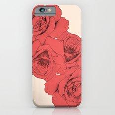 Tattoo Rose | Floral  Slim Case iPhone 6s