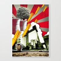 Vive La Vie Canvas Print