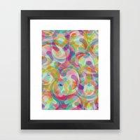 Swirl II Framed Art Print