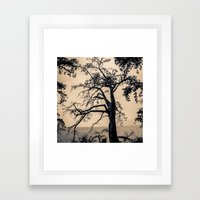 A Conversation With Afte… Framed Art Print