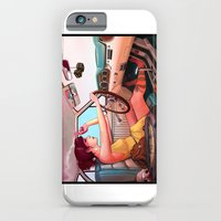woman iPhone & iPod Cases featuring The Getaway by Rudy Faber