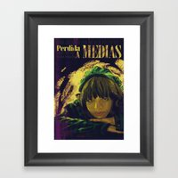 Perdida A Medias Movie Poster  Framed Art Print