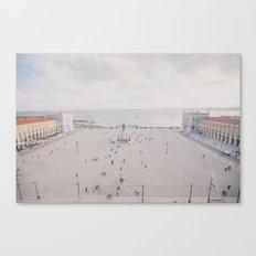 Urban Silence Canvas Print