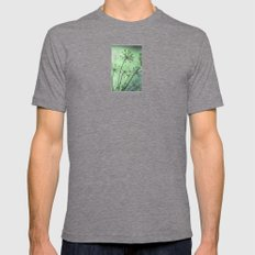 firing neurons Mens Fitted Tee Tri-Grey SMALL