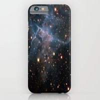iPhone Cases featuring Mystic Mountain Nebula by SuzanneCarter
