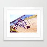 Cockatoo Island Framed Art Print