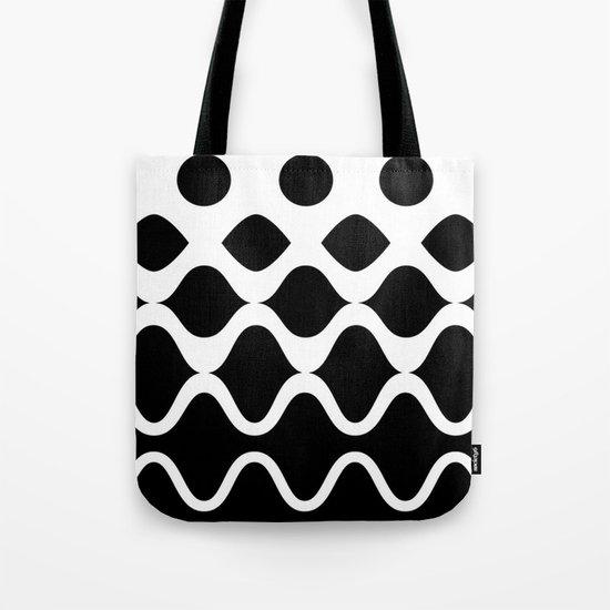 Light Waves Tote Bag