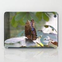 Butterfly Blue iPad Case