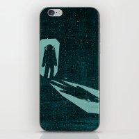A door through space iPhone & iPod Skin