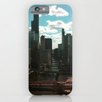 iPhone & iPod Case featuring Chicago River View by Kelly Reynolds