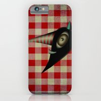 iPhone & iPod Case featuring Lighting Birds Whimsical Art by Ruth Fitta Schulz