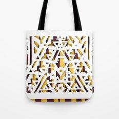 Aztec Pattern Papercut Tote Bag
