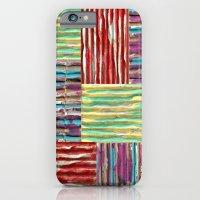 Painterly Corrugated Cardboard iPhone 6 Slim Case