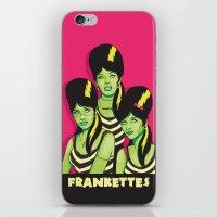 Frankettes iPhone & iPod Skin