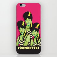 Frankettes iPhone & iPod Skin
