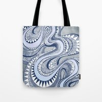 Blue Taffy Tote Bag