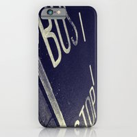 Bus Stop bw iPhone 6 Slim Case