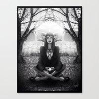 Meditate 2 Canvas Print