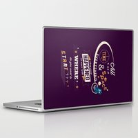 doctor who Laptop & iPad Skins featuring Time and Space by Risa Rodil