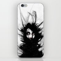 Coiling And Wrestling. D… iPhone & iPod Skin
