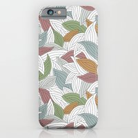 iPhone & iPod Case featuring My dancing leaves by Juliagrifol designs