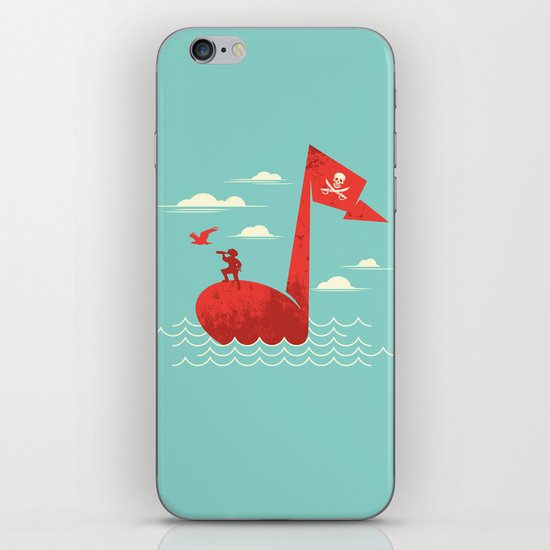the pirate's song iPhone & iPod Skin
