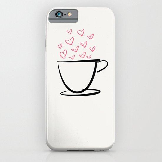 coffee love iPhone & iPod Case