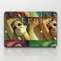 Strange Model iPad Case