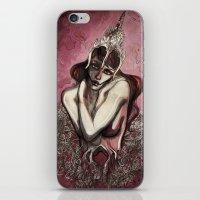 Half Squid Story iPhone & iPod Skin