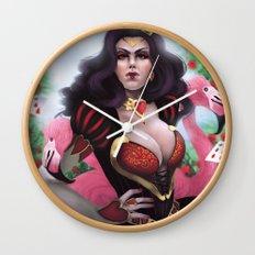 Heart Queen Wall Clock