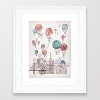 Voyages Over San Francis… Framed Art Print