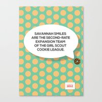 Savannah Smiles Canvas Print