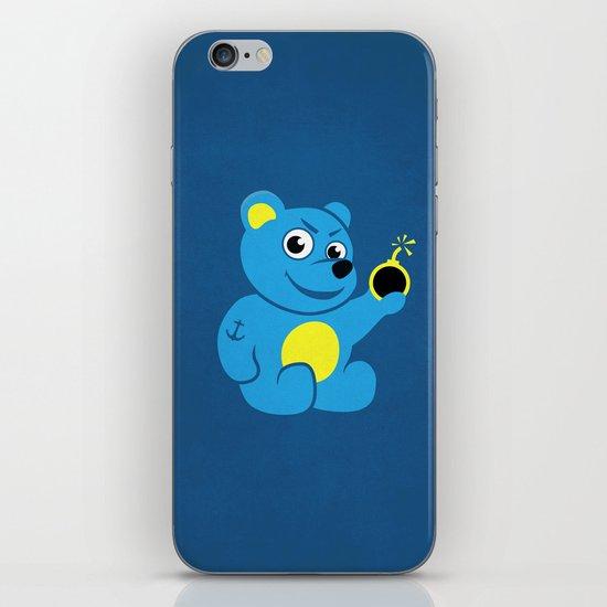 Evil Tattooed Teddy Bear iPhone & iPod Skin