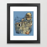 Deep Sea Chessmaster  Framed Art Print