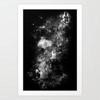 I'll Wait For You Black … Art Print