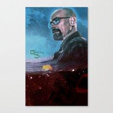 Breaking Bad Death Print  Canvas Print
