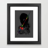 shakin Framed Art Print