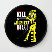 Kill Bullet Bill (Black/Yellow Variant) Wall Clock