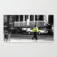 Beat on the Street Canvas Print