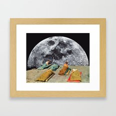 CAMPGROUND Framed Art Print