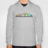 Park Slope Skyline (Color) Hoody