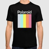 Polaroid Mens Fitted Tee Black SMALL
