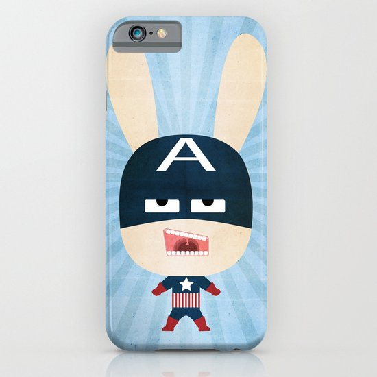 We are all rabbits \ Captain America - Todos somos conejos \  Capitan america iPhone & iPod Case