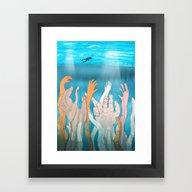 Kelp Framed Art Print