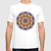 MAGIC COLORS Mens Fitted Tee White SMALL