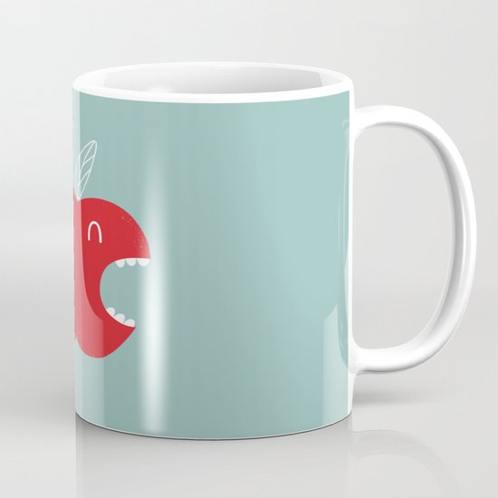Who's biting who? Mug