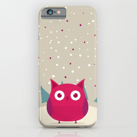 Cute owl iPhone & iPod Case