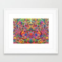 Second Vision Framed Art Print